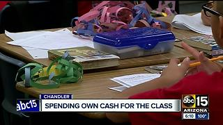 Teachers spending their own cash on school supplies - Video