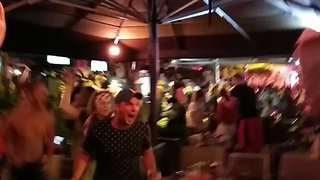 Fans Celebrate Croatia's Win Over England, Earning Spot in World Cup Final - Video
