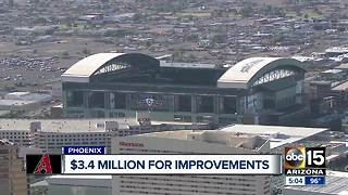 County approves contract for Chase Field improvements - Video