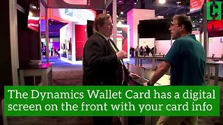 This credit card could reduce theft and fraud - Video