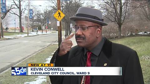 Ward 9 City Councilman, Kevin Conwell said Case Western Reserve University officers harassed him last Friday