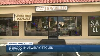Jewelry store robbery in Stuart leads to chase, multiple crashes