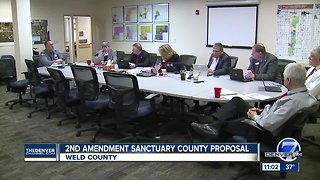 Weld County commissioners pass resolution declaring county a 'Second Amendment sanctuary'