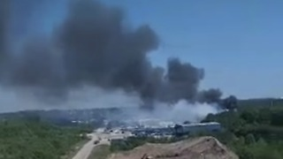 5 Dead in C-130 Plane Crash Near Savannah, Georgia - Video