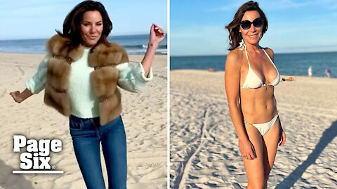 Luann de Lesseps had a vacation fling after breakup