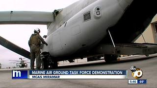 Marine Air Ground Task Force demonstration - Video
