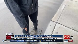 Multiple reports of flooding in Northwest Bakersfield