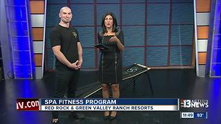 New spa fitness program at Red Rock and Green Valley Ranch - Video