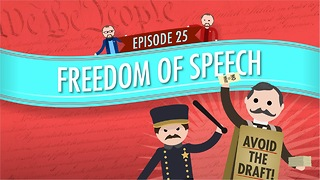 Freedom of Speech: Crash Course Government #25 - Video