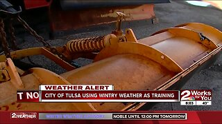 City of Tulsa using wintry weather as training