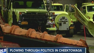Cheektowaga troubles filling snow plow overtime - Video