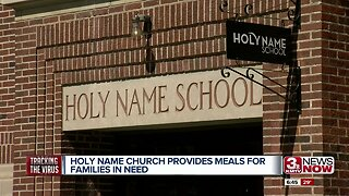 Holy Names Church provides meals for families in need