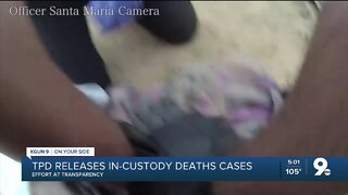 TPD releases in-custody deaths cases