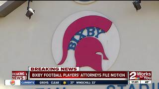 Bixby football players' attorneys file motion - Video