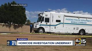 Man found dead inside car in Phoenix