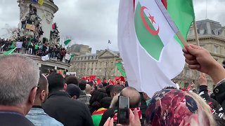 Crowds Gather in Paris to Protest Against Algerian President's Bid for Fifth Term