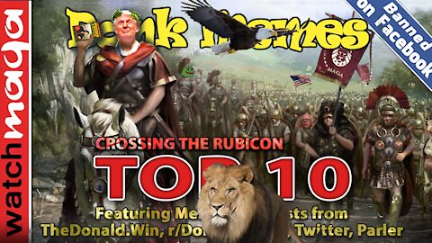 TOP 10 MEMES Crossing the Rubicon