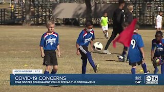 Some concerned big soccer tournaments could spread COVID-19
