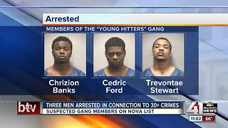 Three men arrested, believed to be connected to 30+ crimes - Video