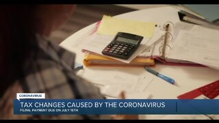 Tax changes caused by the coronavirus