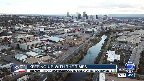 Study: Denver's RiNo District needs better sidewalks, shuttle to and from Union Station