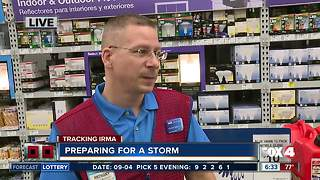 Lowe's helps residents prep for storm - Video