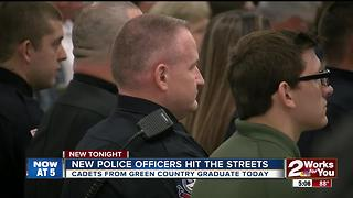 New officers ready to hit the streets - Video