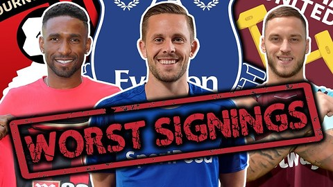 The WORST Premier League Transfer Of The Season Is…