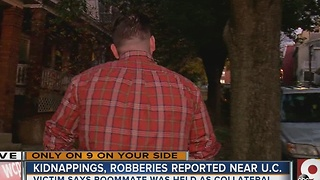 Kidnappings, robberies reported near UC