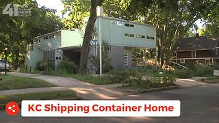 Taste & See KC: Shipping Container Home - Video
