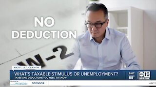 What's taxable: stimulus or unemployment?