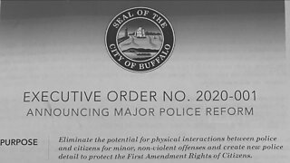 Buffalo police confused over mayor's executive order to stop low-level arrests