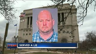 Man accused of forging signatures on court documents - Video