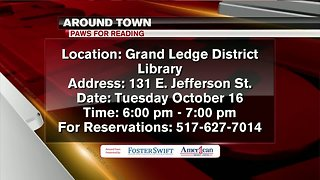 Around Town - 10-15-18 - Paws for Reading