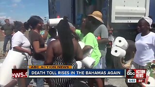 Death toll rises to 44 in Bahamas
