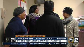 City councilman introduces resolution to fix city schools - Video