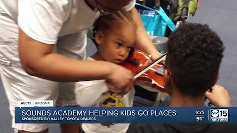 Your Valley Toyota Dealers are Helping Kids Go Places: Sounds Academy