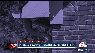 Greenfield homeowners share surveillance footage to help police solve crimes - Video