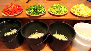 Sauerkraut with four different veggies Recipe  - Video