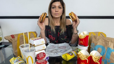 Obese McDonald's addict – who scoffed over 7,000 calories per day – ditches fast food diet to drop five stone