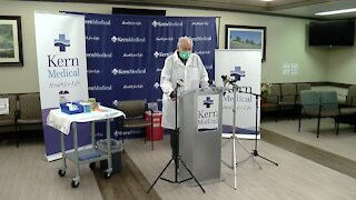 Kern Medical is first hospital to administer COVID-19 vaccines