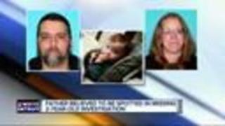 Michigan dad sought in missing child case possibly spotted - Video