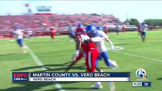 Martin County edges Vero - Video