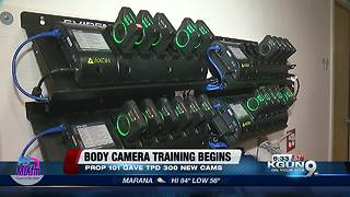 Tucson police receive body cam training - Video