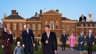 All the Royals That Live at Kensington Palace With Prince Harry and Meghan Markle - Video