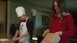 Local kids selling homemade treats for veterans and families of fallen military members