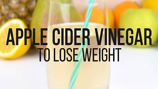 Apple cider vinegar recipe to lose weight - Video