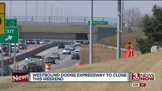 Westbound Dodge Expressway to close this weekend - Video