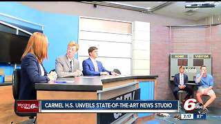 Carmel High School unveils state-of-the-art news studio - Video