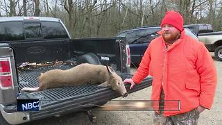 Hunters head to the woods on opening day - Video